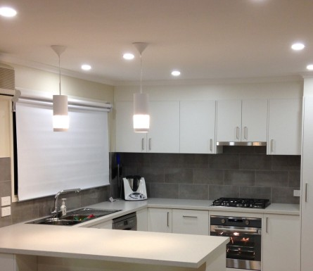 Kitchen electrical and lighting 2